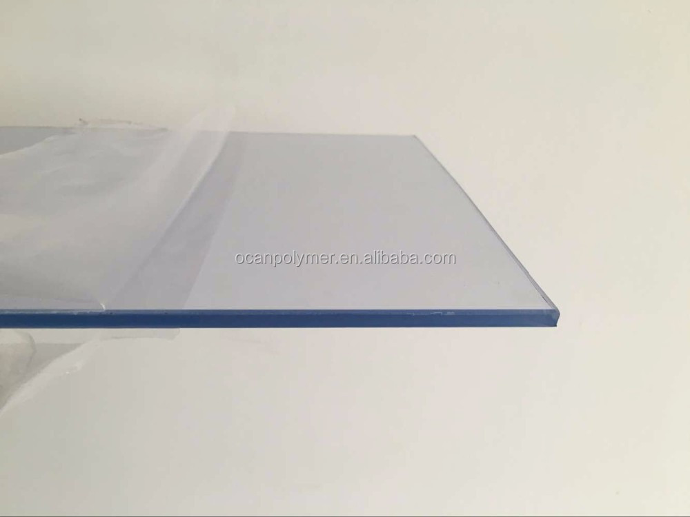 rigid clear pvc transparent plastic pvc sheet