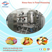 Vacuum Frying machine with high quality and efficiency