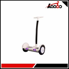 10inch 2 wheel smart self balancing big wheel electric scooter with handle bar