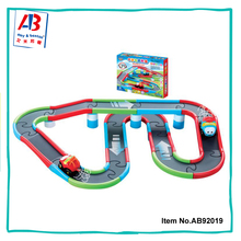 Good quality battery operated magic track cars toy for kids