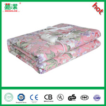china electric blankets 220V cotton heating blanket