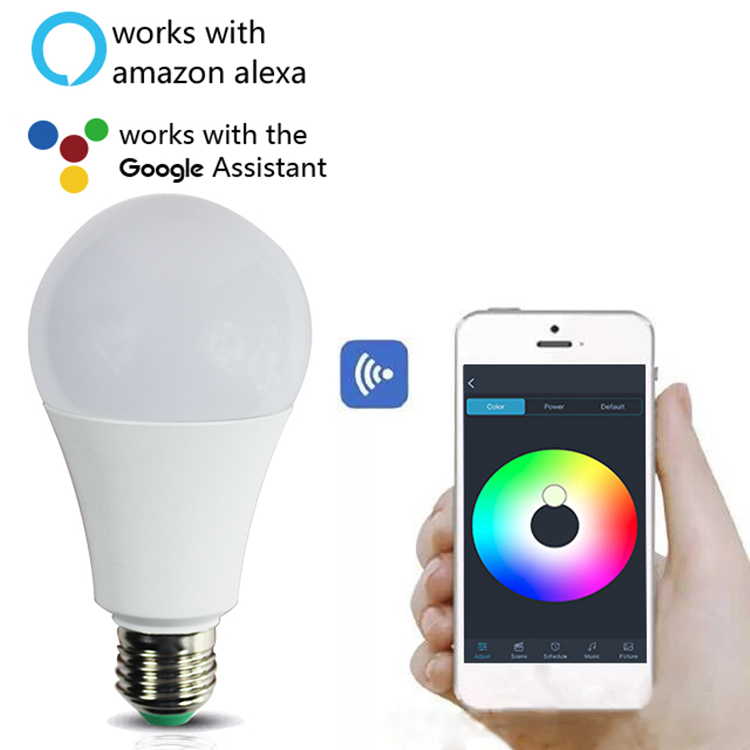 8W/9W/13W E27 Tuya Smart Home Smart Bulb WIFI Smart CCT RGB Led Light Bulb Tuya Smart Bulb
