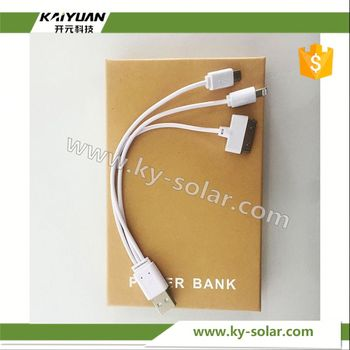 quick charge power bank charger mini solar
