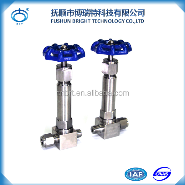 BPF-D Low Temperature Resistance Needle Valve 3000psi Stainless Steel Needle Valve