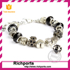 New Fashion Jewelry Breast Cancer Bracelet 2015 European Charm Loose beads Bracelet Jewelry For Women