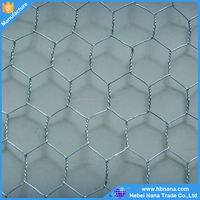 Hexagonal wire mesh / woven chicken wire netting / home depot and garden wire mesh