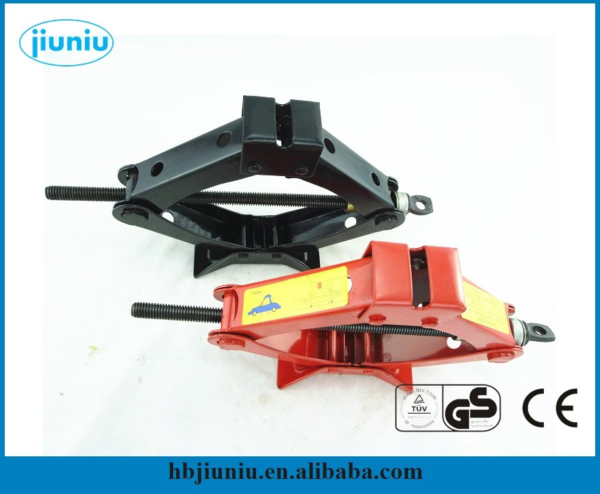 Small hand operate scissor jack, car lift rolling jack