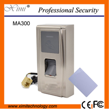 RFID Card Access Control With Waterproof Biometric Fingerprint Tcp/Ip Card Reader Access Control System
