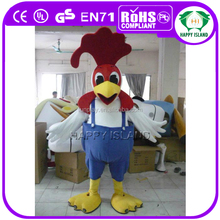 HI CE Very funny cartoon chicken mascot costume, mascot costume, mascot