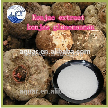 100% Natural Best Quality Konjac Extract Powder Weight Loss
