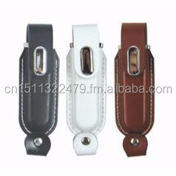 Customized Logo Printed Engraved Leather PU USB Flash Drive SK-231 for Christmas New Year Gifts,Gadgets and Promotion