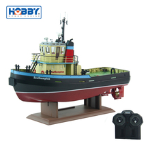 Fishing Boat Southampton 1/36 Scale Vintage Model Rc ESC Tug Boat With Moking Function