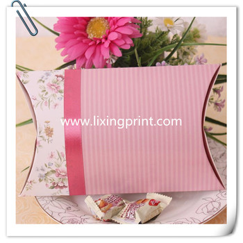 Hair extension packing Pillow paper boxes