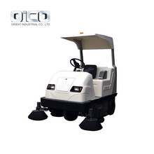 E8006 Ride-On Floor Sweeper Pavement Cleaning Machine Factory
