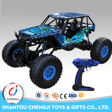 High speed electric 2.4ghz plastic 4x4 powerful body shell for 1 10 rc car