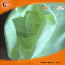 Factory selling 100% cotton seamless tube rib knitted fabrics