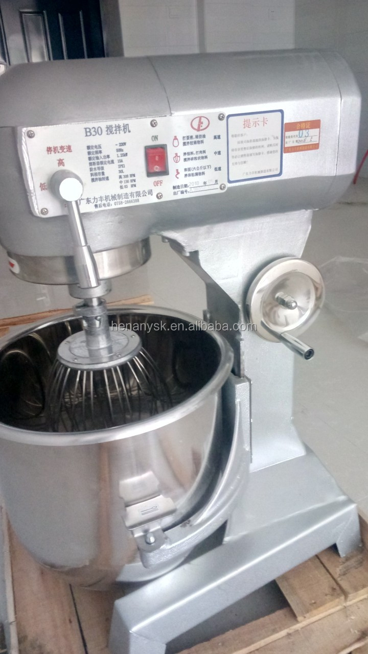 10L Multifunctional Stand Dough/Egg Mixer Flour Mixing Equipments Machinery