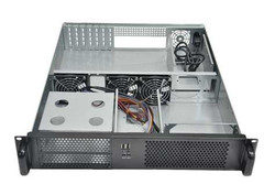 2U Rackmount case with 2U PSU
