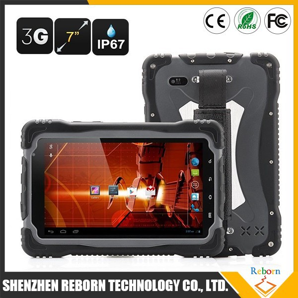 Rugged 4 inch Android 4.4 Waterproof IP68 Shockproof 4500mAH Quad core MTK6589 3g Tablet pc