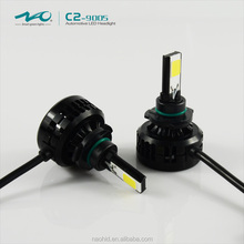 2016 Newest original factory 33w 3000lumens car led headlight 9005 headlight fog light glass