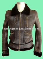 2012 LADIES GENUINE LAMB SUEDE SHEARING COAT,LAMB SHEARING COAT,SUEDE SHEARING JACKET,SHARING GARMENT FOR WINTER SEASON