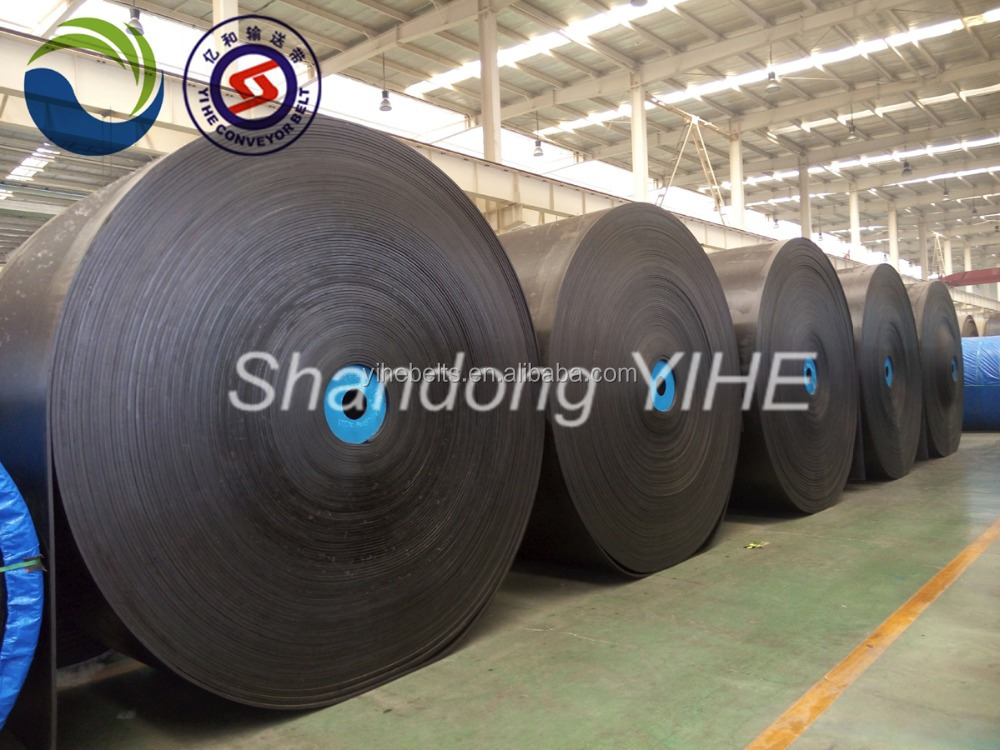 EP100 rubber conveyor belt price for industries
