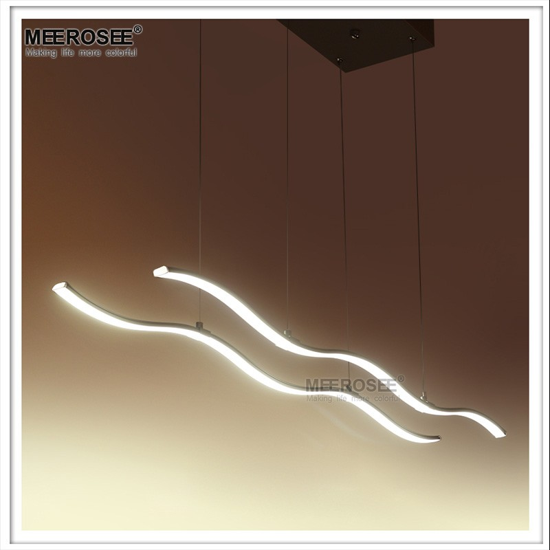 Linear Pendant Lamp Contermporary Hanging LED Light Modern MD83060