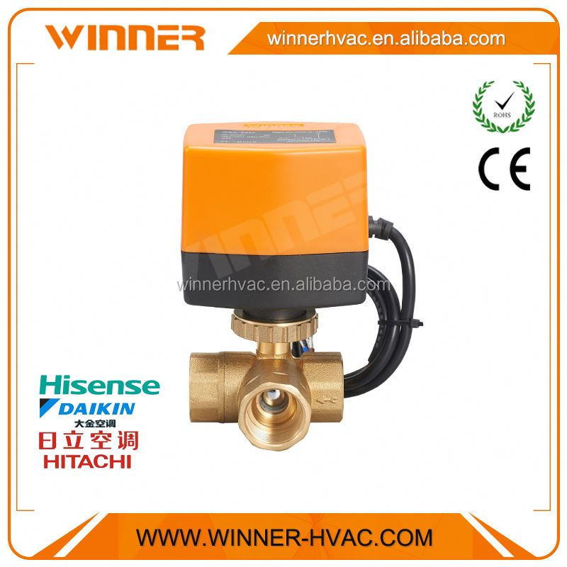 "With sample available 1-1/4"" temperature control valve"