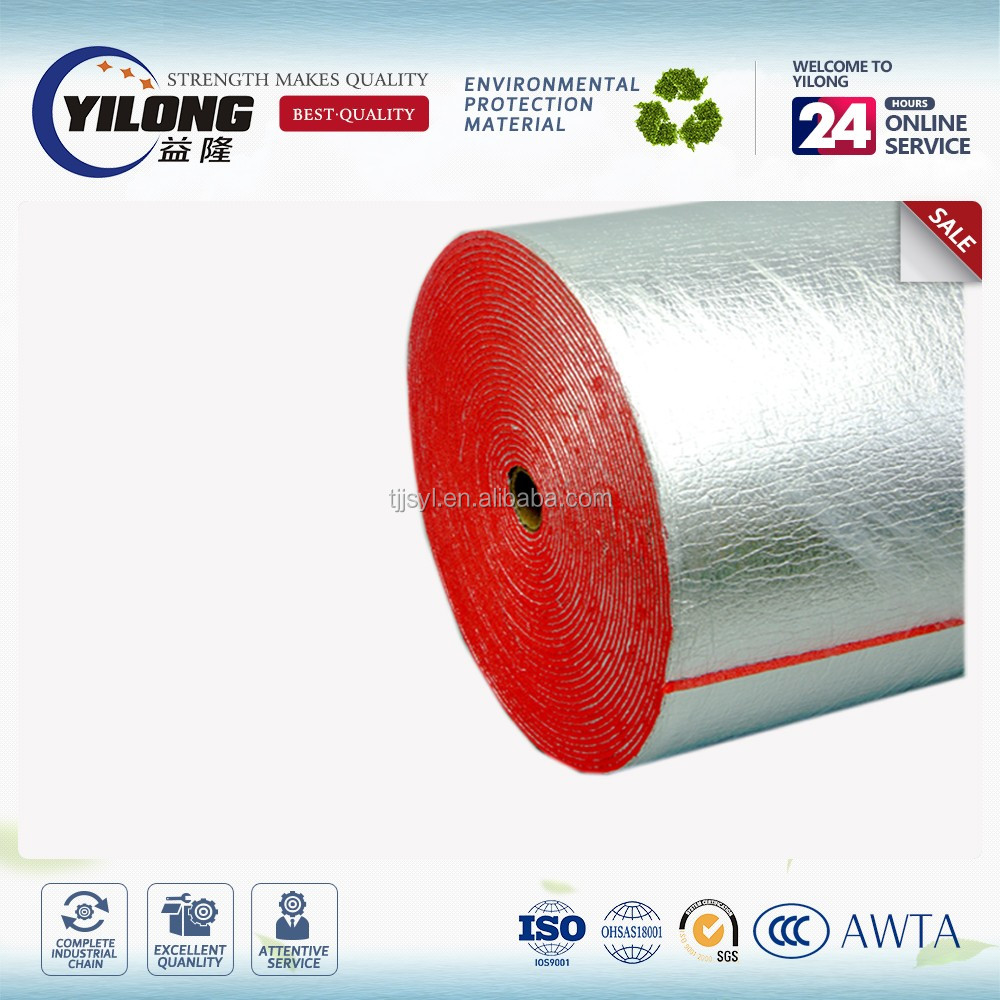 Hot sale solar reflective heat reflective aluminum foil insulation padded with epe foam film
