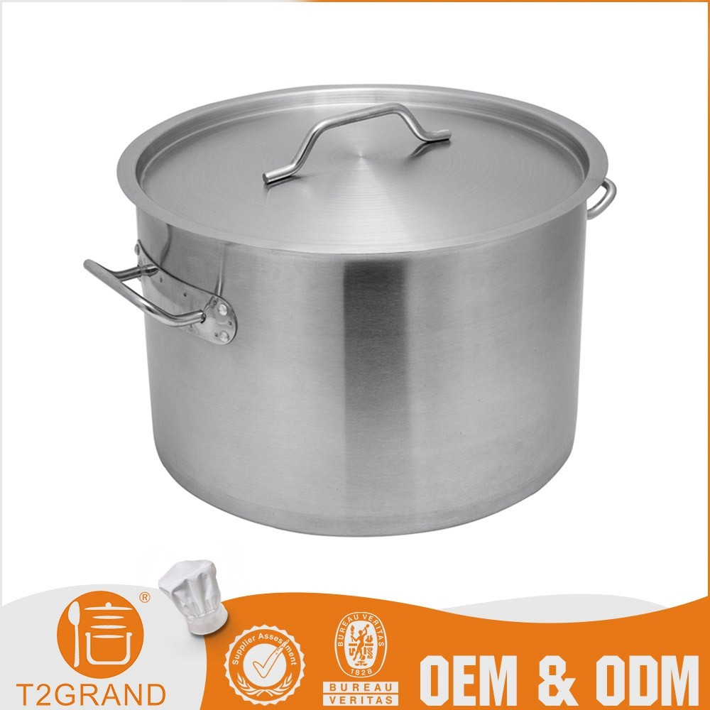 Custom 200L 100L Stainless Steel Soup Cooking Pot