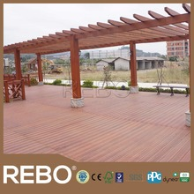 Carbonized outdoor bamboo deck flooring