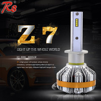 brightest led automotive lights Z7 H1 880/881 philipse headlights bulbs 50W 6000LM 6000K led light car kit leds in car
