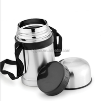 stainless steel vacuum thermal lunch box insulated food container
