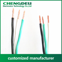 2016 high quality european harmonized approved H03VV-F pvc electrical insulated wires and cables