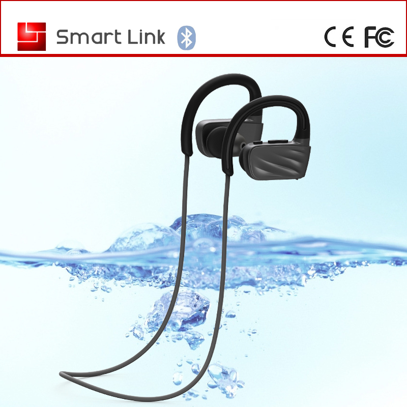 IPX7 wireless headset 4gb waterproof mp3 player for swimming