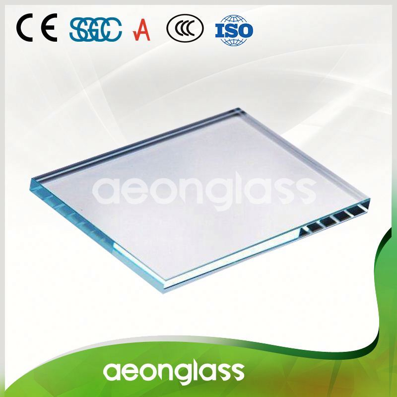 3mm super clear float low iron tempered glass