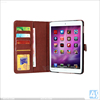 For ipad leather case, for ipad mini 4 leather case cover with flower pattern
