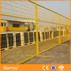 cheap Construction Site pvc coated Portable Safety Canada/America temporary fence