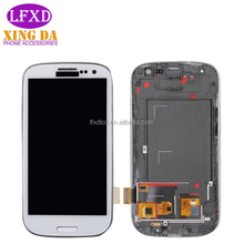 mobile accessories LCD touch screen display replacement for samsung galaxy s3 lcd touch screen digitizer
