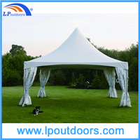 8x8m 2015 Hot sales outdoor beautiful canvas frame tent