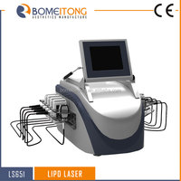 Lipo laser body contouring machine 10 laser paddles