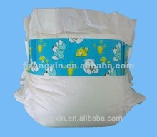 Sleepy disposable baby diaper with magic front tape /sandia SAP