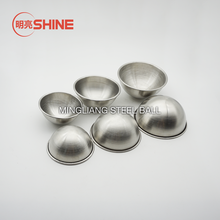 55mm 65mm 70mm 80mm 6.5cm 7cm 8cm Custom Stainless Steel Metal Bath Bomb Mold