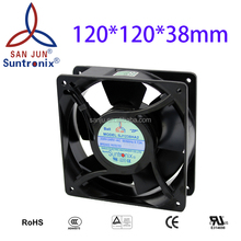 24 voltage Axial AC Fan Suntronix SJ1238HA2BAT(Aluminum Blade)