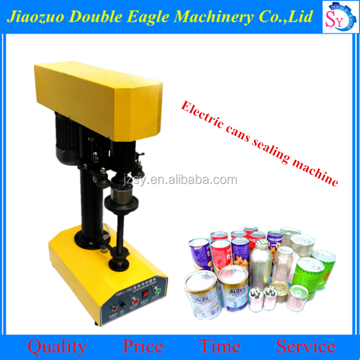 Best quality Automatic Red Bull can sealing machine/electric Paper Plastic Pot Metal Cans Sealing Machine
