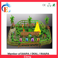 Cheap price mini roller coaster with video , park ride equipment for sale