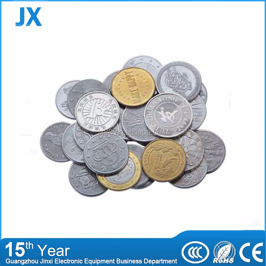 Custom make steel coin blanks in China factory