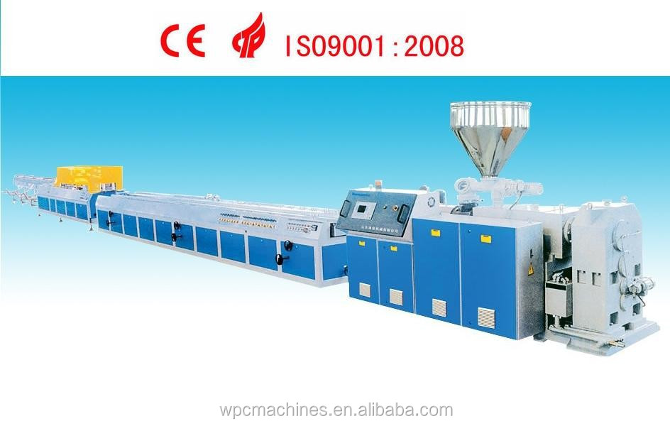 High Capacity PVC Profile Extrusion Line/PVC Plastic Extruder