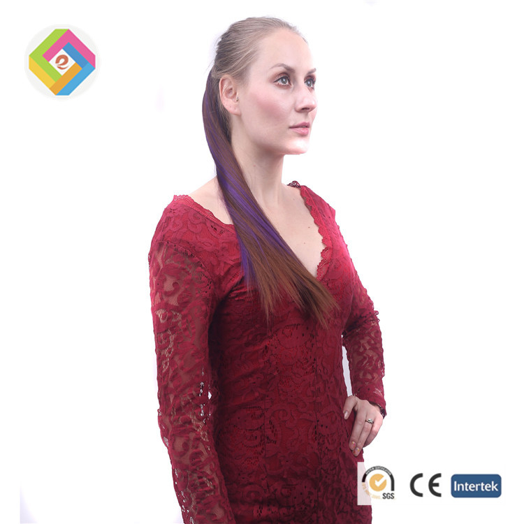 European and American new high quality wigs ponytail, lady's horsetail fake hair,long hair straight hair wig ponytail