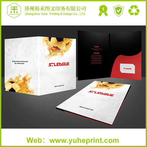 professional folder printer in China zhengzhou custom printing service recycled paper perfect half